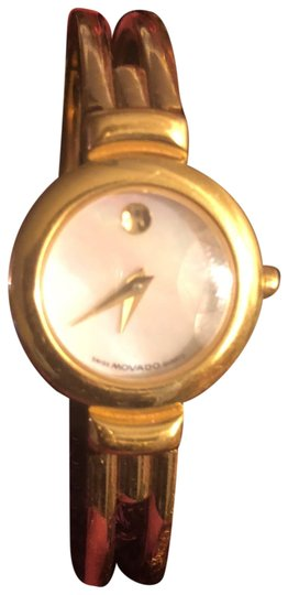 Preload https://img-static.tradesy.com/item/24156234/movado-gold-pearl-face-watch-0-1-540-540.jpg