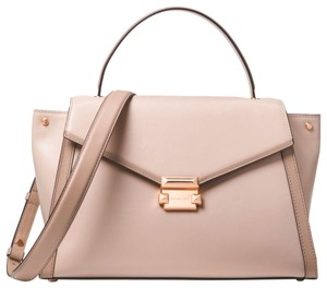 Michael Kors Leather 30t8txis3t Satchel in Soft Pink
