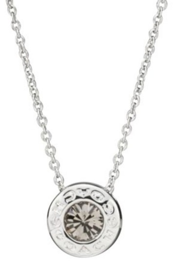 Preload https://img-static.tradesy.com/item/24156285/coach-silver-open-stone-necklace-0-0-540-540.jpg