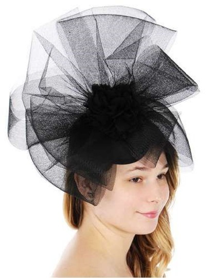 Preload https://img-static.tradesy.com/item/24156375/black-new-dress-formal-dressy-net-hat-0-0-540-540.jpg