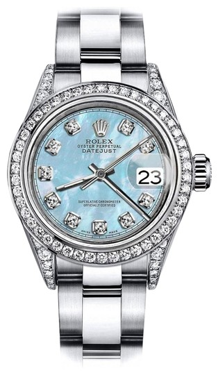 Preload https://img-static.tradesy.com/item/24156403/rolex-stainless-steel-baby-blue-pearl-tr-31mm-datejust-pave-diamond-lugs-and-bezel-watch-0-1-540-540.jpg