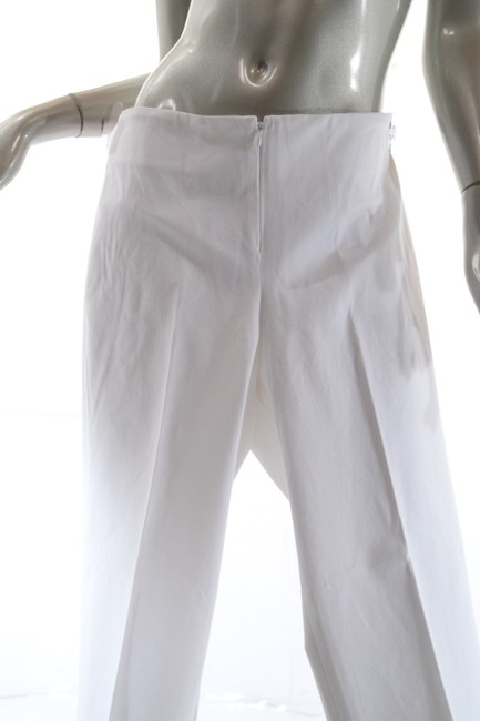 Peace of Cloth Straight Pants White