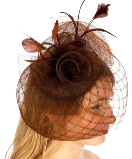 Preload https://img-static.tradesy.com/item/24156419/brown-new-dress-formal-dressy-net-hat-0-1-540-540.jpg
