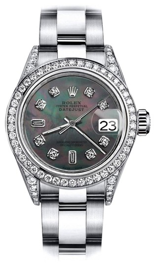 Preload https://img-static.tradesy.com/item/24156443/rolex-stainless-steel-black-pearl-82-31mm-datejust-diamond-lugs-and-bezel-watch-0-1-540-540.jpg