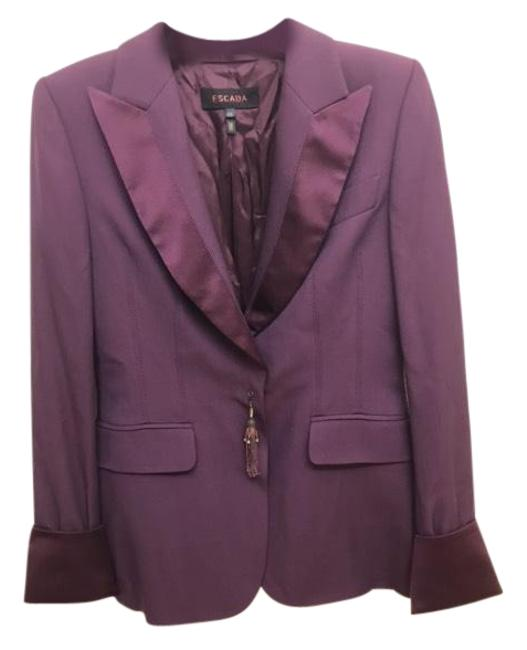 Preload https://img-static.tradesy.com/item/24156473/escada-purple-blazer-size-6-s-0-2-650-650.jpg