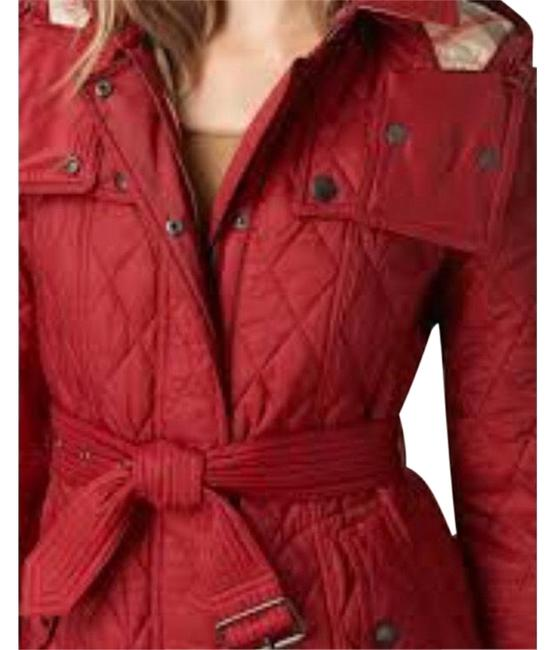 Item - Red Finsbridge Diamond Quilted Jacket Size 8 (M)