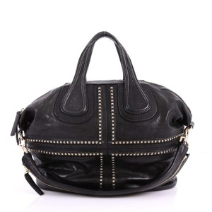 Givenchy Leather Satchel in Black