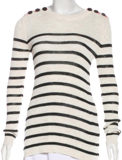 Preload https://img-static.tradesy.com/item/24156503/isabel-marant-etoile-cream-with-navy-stripes-sweater-0-1-650-650.jpg