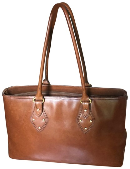 Preload https://img-static.tradesy.com/item/24156520/cole-haan-briefcase-caramel-leather-tote-0-1-540-540.jpg