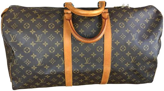 Preload https://img-static.tradesy.com/item/24156528/louis-vuitton-keepall-boston-55-brown-monogram-canvas-and-leather-weekendtravel-bag-0-1-540-540.jpg