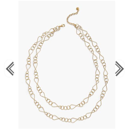 Preload https://img-static.tradesy.com/item/24156572/talbots-gold-double-layer-necklace-0-0-540-540.jpg