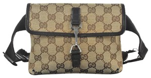 Gucci Gg Travel Vintage brown Messenger Bag