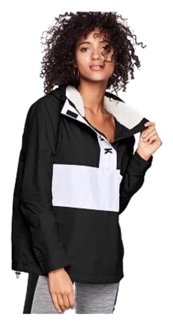 Preload https://img-static.tradesy.com/item/24156623/pink-black-vs-sherpa-lined-hood-anorak-jacket-size-8-m-0-1-650-650.jpg