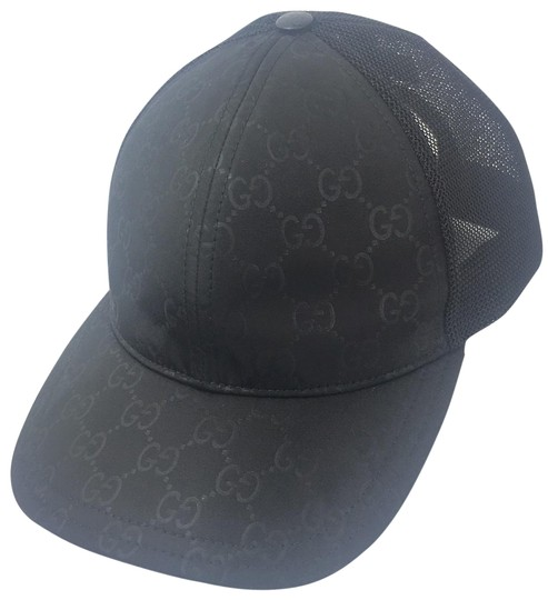 Preload https://img-static.tradesy.com/item/24156693/gucci-black-gg-nylon-canvas-adjustable-baseball-cap-xl-510950-hat-0-1-540-540.jpg