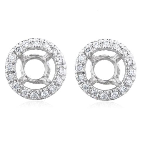 Preload https://img-static.tradesy.com/item/24156697/white-gold-14k-50-cttw-diamond-jackets-perfect-for-1-carat-studs-earrings-0-0-540-540.jpg