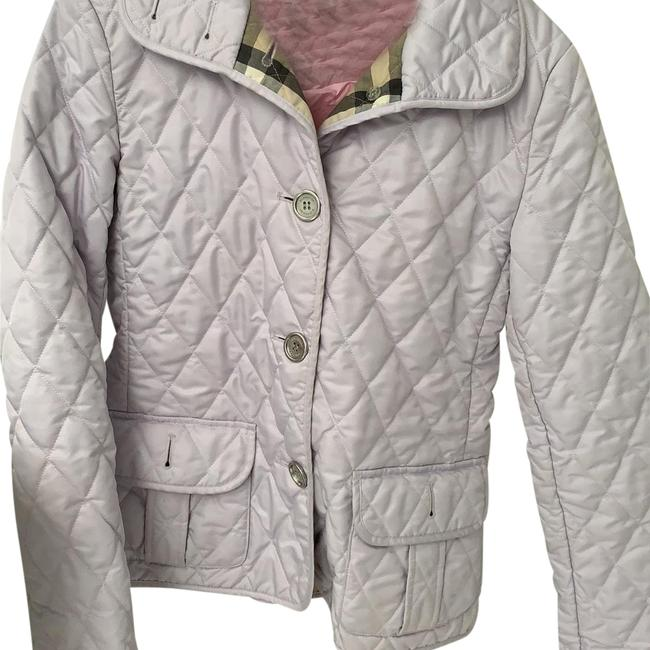 Item - Light Purple/Lavender Classic Quilted Jacket Size 2 (XS)