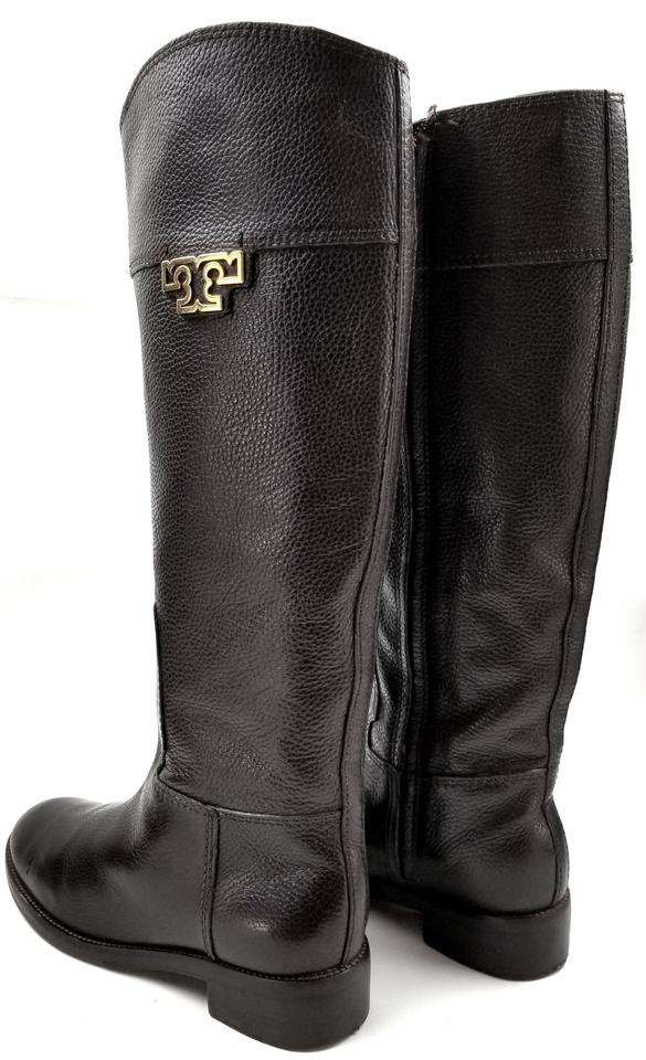 ae8257d351ca Tory Burch Brown  joanna  Riding Boots Booties Size US 8.5 Regular ...