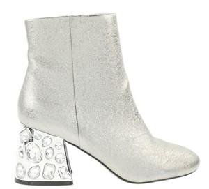 Kenneth Cole Silver Boots