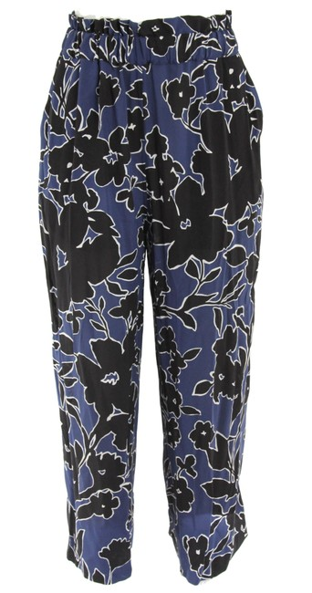 Preload https://img-static.tradesy.com/item/24156886/michael-kors-collection-blue-floral-print-silk-georgette-wide-leg-pants-size-4-s-27-0-0-650-650.jpg