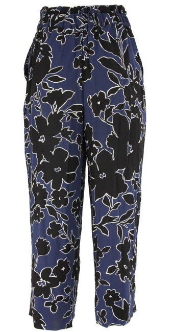 Michael Kors Collection Relaxed Pants Blue Image 2
