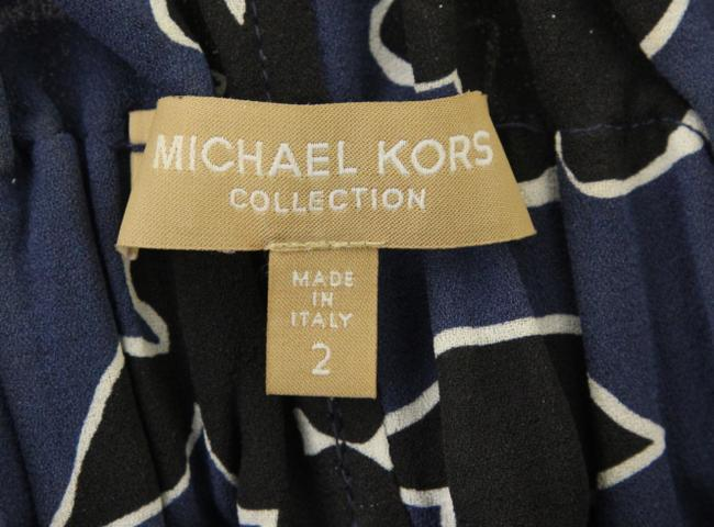 Michael Kors Collection Relaxed Pants Blue Image 6