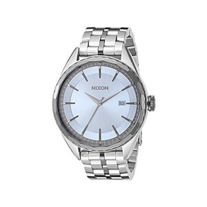 Nixon A934-2363 Women's Silver Steel Bracelet With Blue Analog Dial Watch