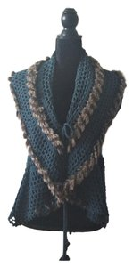 RXB Faux Fur Sweater Vest