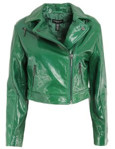 Kenneth Cole Green Leather Jacket