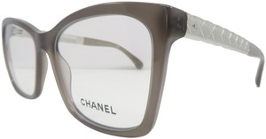 Chanel Women's Rectangular Rx 3356 C.677 Eyeglasses