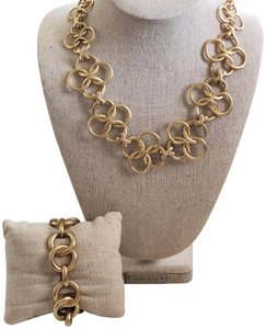 Stella & Dot Stella & Dot Crosby Necklace + Jackie Bracelet Set