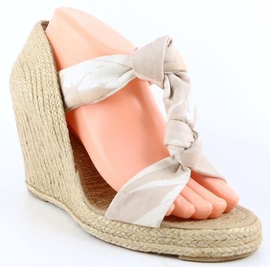 Stella McCartney Designer Eur 40 Espadrille Pink Multi Wedges