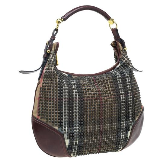 Preload https://img-static.tradesy.com/item/24157365/burberry-nova-check-studded-hoxton-brown-leather-and-canvas-hobo-bag-0-0-540-540.jpg
