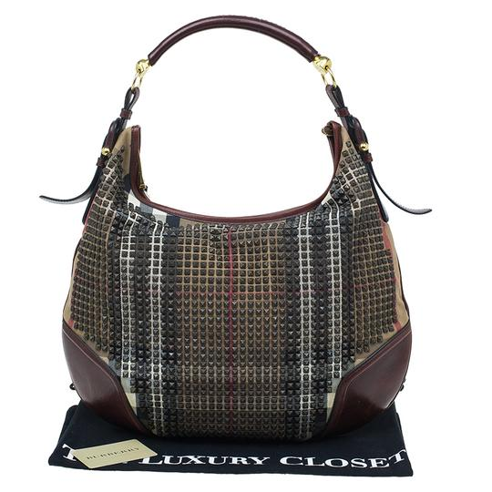 Burberry Hoxton Nova Studs Hobo Bag