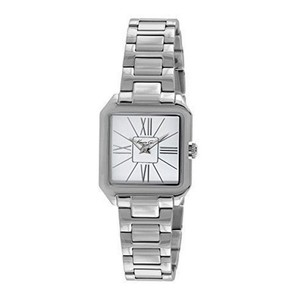 Kenneth Cole KC4984 Men's Silver Steel Bracelet With White Analog Dial Watch