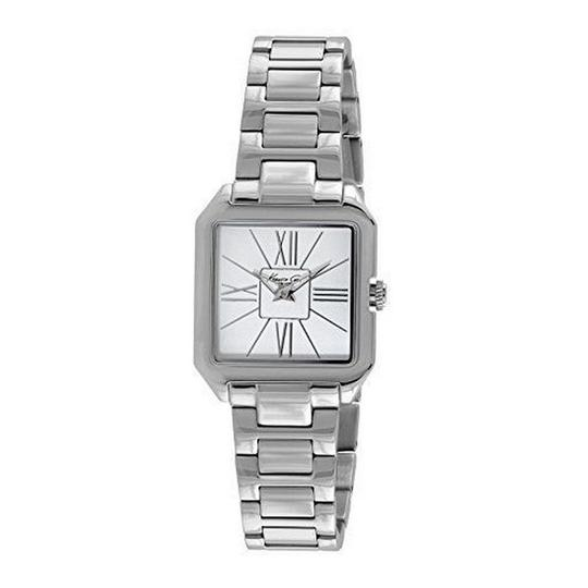 Preload https://img-static.tradesy.com/item/24157369/kenneth-cole-silver-kc4984-men-s-steel-bracelet-with-white-analog-dial-watch-0-0-540-540.jpg