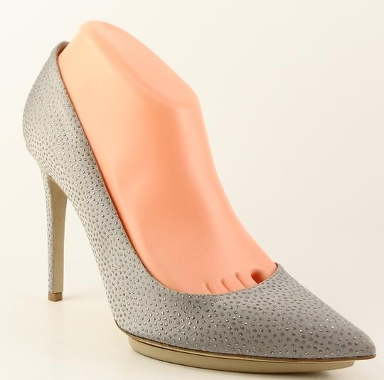 Stella McCartney Heel Eur 38 Silver Pumps