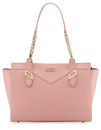 Preload https://img-static.tradesy.com/item/24157412/versace-collection-saffiano-chain-shoulder-bagpink-pink-leather-satchel-0-0-540-540.jpg
