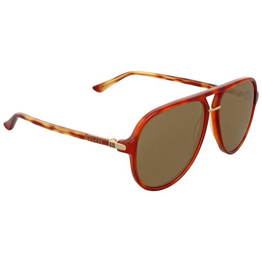 Preload https://img-static.tradesy.com/item/24157433/gucci-havana-brown-aviator-unisex-sunglasses-0-0-540-540.jpg