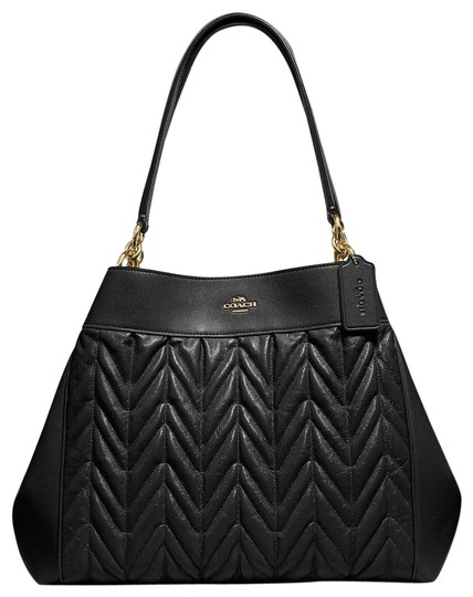 Preload https://img-static.tradesy.com/item/24157436/coach-lexy-with-quilting-blak-leather-shoulder-bag-0-1-540-540.jpg