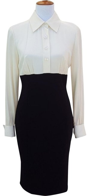 Preload https://img-static.tradesy.com/item/24157466/inc-international-concepts-cream-and-black-mid-length-workoffice-dress-size-6-s-0-2-650-650.jpg