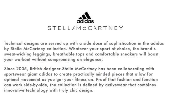 adidas By Stella McCartney Black Athletic