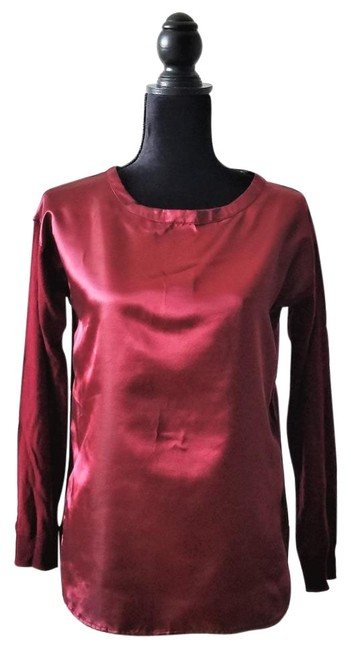 Preload https://img-static.tradesy.com/item/24157555/verve-ami-cranberry-red-ess4318-blouse-size-4-s-0-1-650-650.jpg
