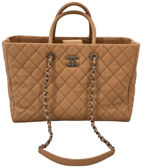 Preload https://img-static.tradesy.com/item/24157577/chanel-shopping-tote-beigecamel-caviar-quilted-leather-satchel-0-1-540-540.jpg