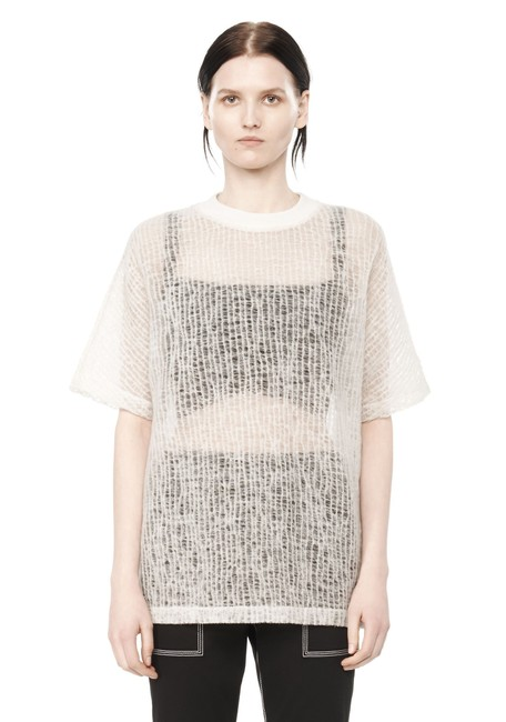 Preload https://img-static.tradesy.com/item/24157614/t-by-alexander-wang-ivory-crinkle-knit-sleeve-tee-shirt-size-4-s-0-0-650-650.jpg