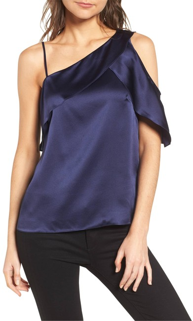 Preload https://img-static.tradesy.com/item/24157635/parker-connie-asymmetrical-cold-shoulder-silk-blouse-size-2-xs-0-2-650-650.jpg