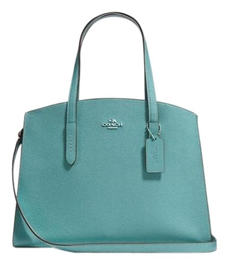 Preload https://img-static.tradesy.com/item/24157658/coach-charlie-carryall-in-polished-pebble-marine-leather-satchel-0-1-540-540.jpg