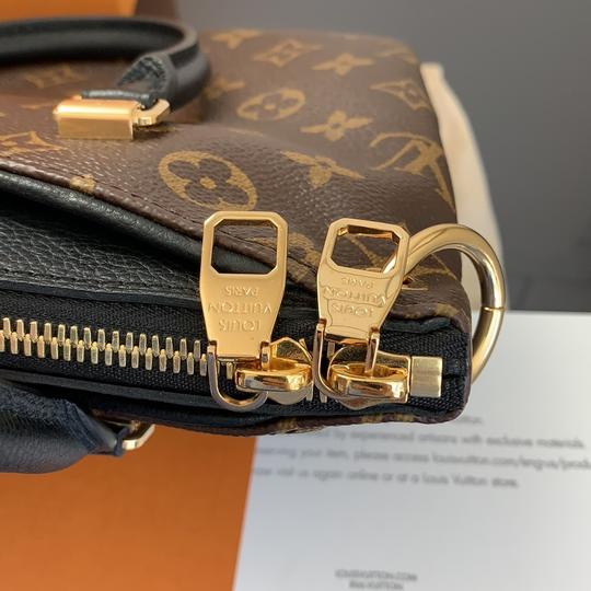 Louis Vuitton Pallas Bb Monogram Satchel in Brown