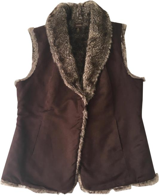 Preload https://img-static.tradesy.com/item/24157741/brown-faux-fur-and-suede-vest-size-12-l-0-1-650-650.jpg