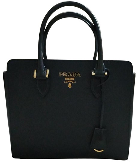 Preload https://img-static.tradesy.com/item/24157795/prada-handbag-black-saffiano-leather-satchel-0-1-540-540.jpg
