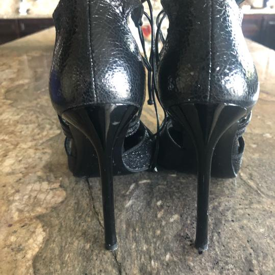 Stuart Weitzman Black with a of shimmer Pumps